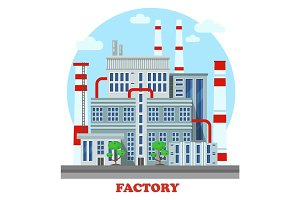 Manufacturing plant or factory
