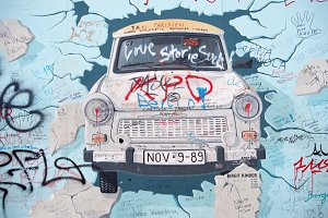 Berlin Wall Art - Car