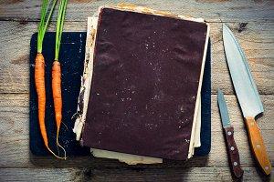 Vintage cook book