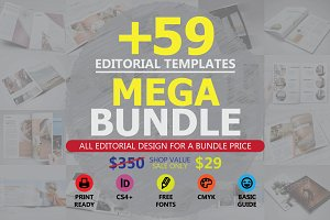 Editorial Templates Mega Bundle