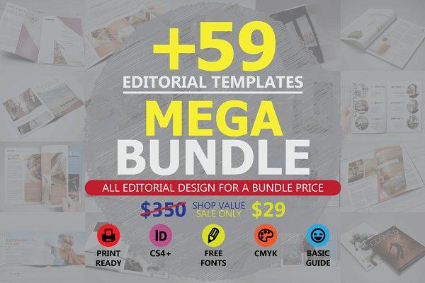 Editorial Templates Mega Bundle