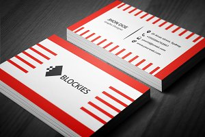 Strap Business Card Template