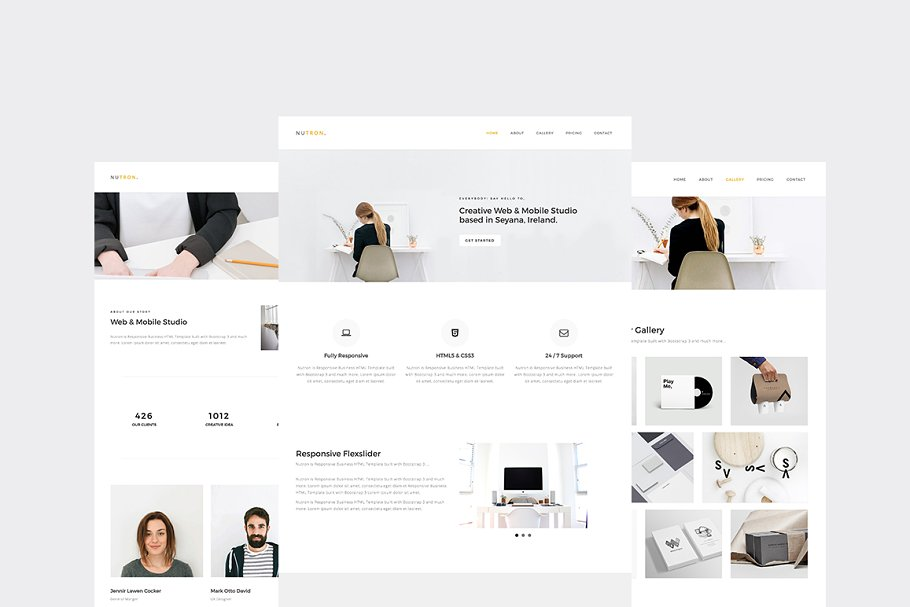 15 Cool HTML Business Website Templates 2017