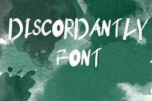 Discordantly font