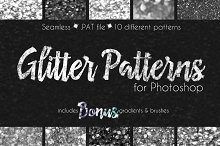 Glitter Texture Patterns Photoshop by  in Palettes