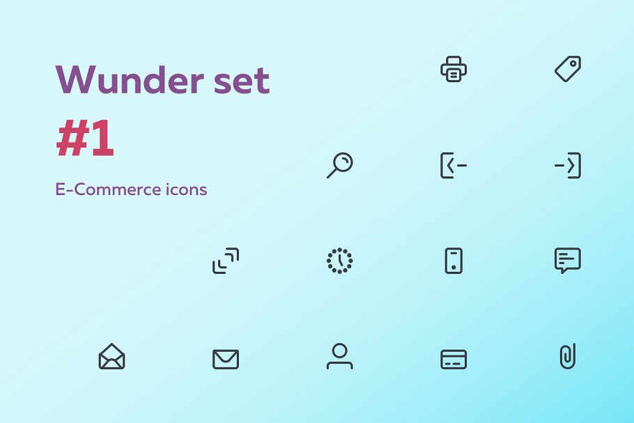 #1 E-Commerce icons in Icons - product preview 8