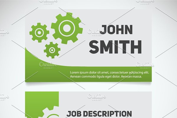 Business Card Print Template Vector Product Mockups Creative Market