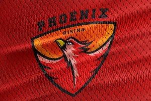Phoenix Sport Team Logo Template