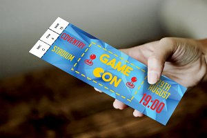 Gaming Convention Ticket