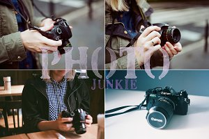 Photo Junkie 4 Stock Photos