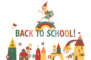 Back to school with Pinocchio!