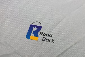 Road Back Logo Template