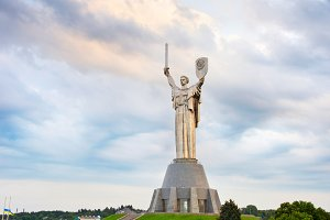 Monument of Mother Motherland