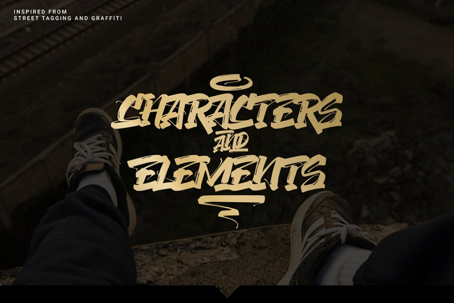 The Concrete Graffiti Font in Graffiti Fonts - product preview 1