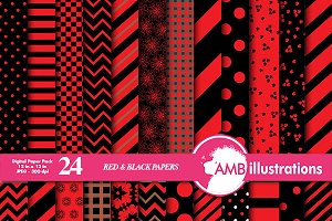 Red and Black Papers,  AMB-537