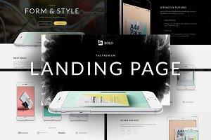 Bold - Premium App Landing Page
