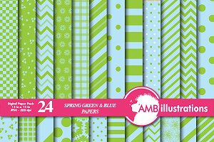 Green and Blue Papers, AMB-540