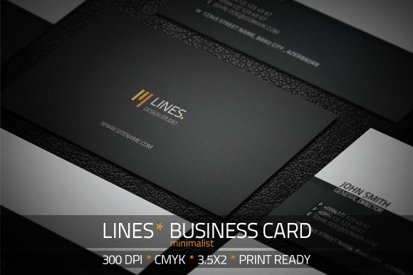 The minimalist design trend why less is more creative market blog minimalist business card reheart Gallery
