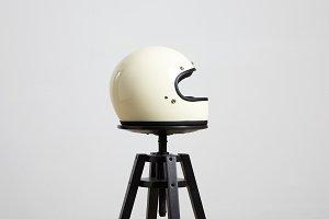 Motorbike helmet mockups