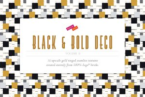 Black and Bold Deco Patterns (Vol.2)