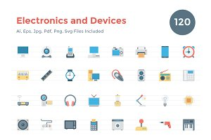 120 Flat Electronics and Devices