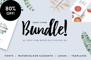 Font and Graphic Bundle | 80% off!