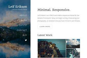 Leif Erikson - Minimal Genesis Theme