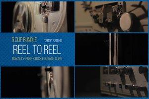 Reel to Reel: 5 Clip Footage Bundle