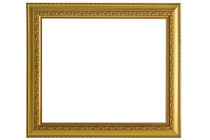 Gold frame Elegant vintage
