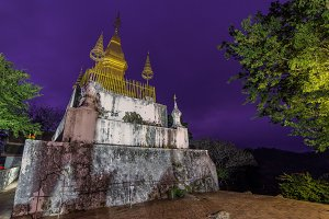 Pagoda of Phu Si Temple
