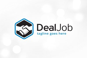Deal Job Logo Template