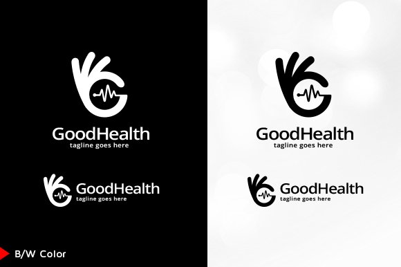 Good Health Logo Template in Logo Templates - product preview 3