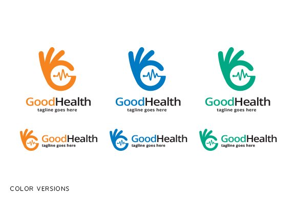 Good Health Logo Template in Logo Templates - product preview 4
