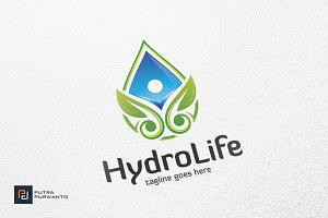 Hydro Life - Logo Template