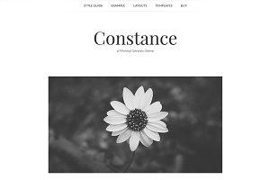 Constance - Minimal Genesis Theme