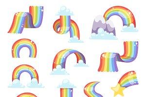Rainbow vector set