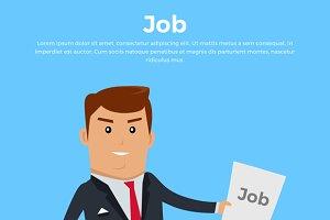 Job Concept Banner