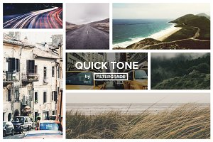 QuickTone - Suble Photoshop Actions
