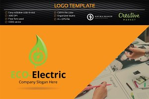 Eco-Electric Logo - Logo Templates