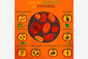 Tomatoes Benefits Image