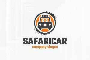 Safari Car Logo Template
