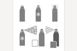 Deodorant Vector Icon