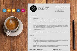 "Resume / CV - ""Essence"""