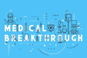 Medicine concept breakthrough