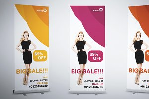 Monro Roll-Up Banner Template