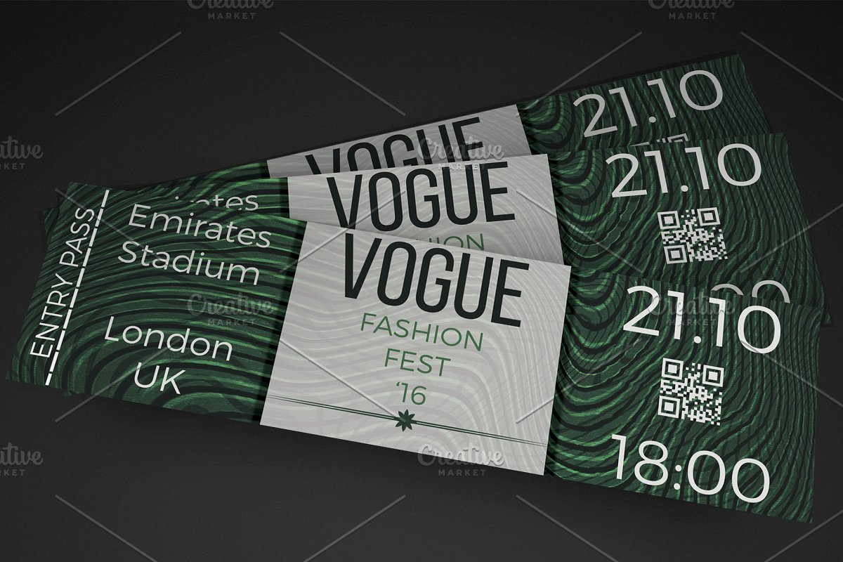 fashion show ticket template.html