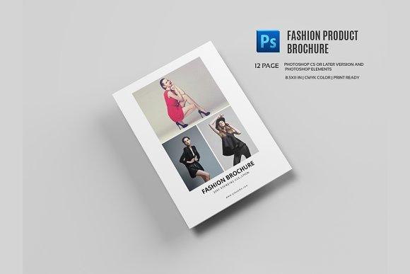 fashion brochure template - fashion product brochure catalog 558 brochure templates