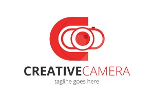 Creative Camera Logo Design