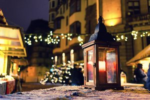 Christmas. Riga. Latvia