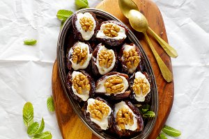 Dates Dessert for Ramadan